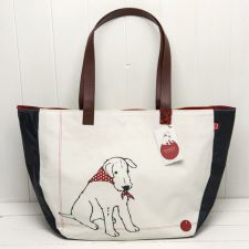 Douglas Shopper Hand Bag - Douglas The Boy Wonder - The Little Dog