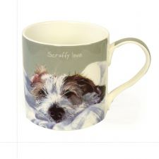 Scruffy Love Wire Hair Jack Russell Mug - The Little Dog