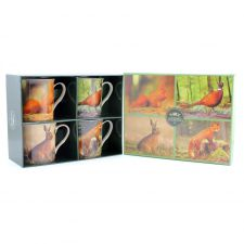 Wildlife Collection Fine China Mug Gift Set