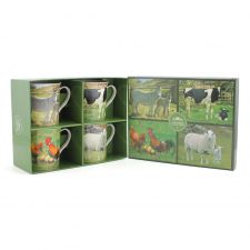 Farm Yard Collection Fine China Mug Gift Set