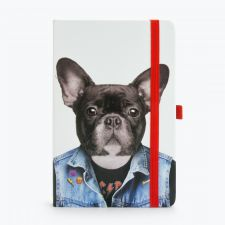 Dog Go Wild A5 Notebook & Pen Holder