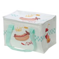 Hot Dog Fast Food Picnic Large Cool Bag Lunch Box - Sausage Dog