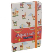 Alpaca the Herd Notebook & Elastic Closure
