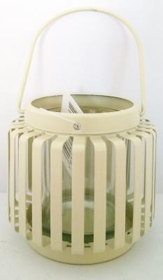 Cream Lantern Tealight Holder Indoor Outdoor