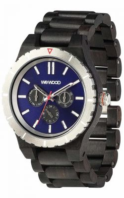 Mens WeWood Kappa MB Blue Wooden Watch