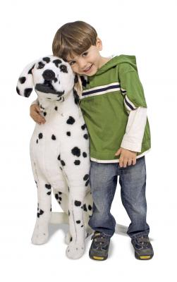 Lifelike Dalmatian Dog Plush Soft Toy - Melissa & Doug