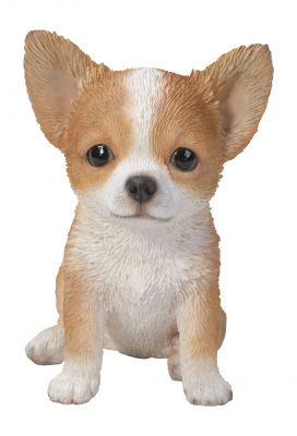Chihuahua Puppy Dog - Lifelike Ornament Gift - Indoor or Outdoor - Pet Pals
