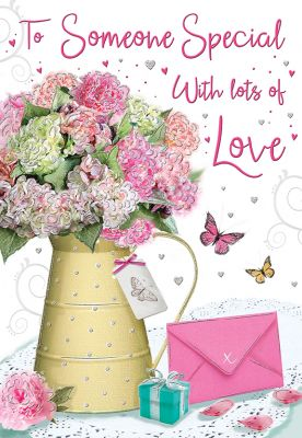 Birthday Card - To Someone Special Flowers - Regal
