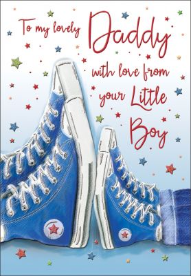 Father's Day Card - Daddy From your Little Boy - Regal