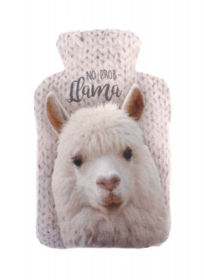 Llama Snug Warmer Wheat Bag