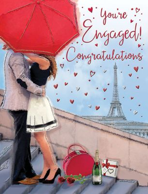 Engagement Card - You're Engaged! Congratulations - Regal