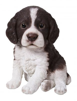 Springer Spaniel Puppy Dog - Lifelike Ornament Gift - Indoor or Outdoor - Pet Pals
