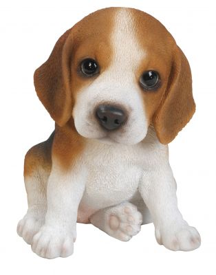 Beagle Puppy Dog - Lifelike Ornament Gift - Indoor or Outdoor - Pet Pals
