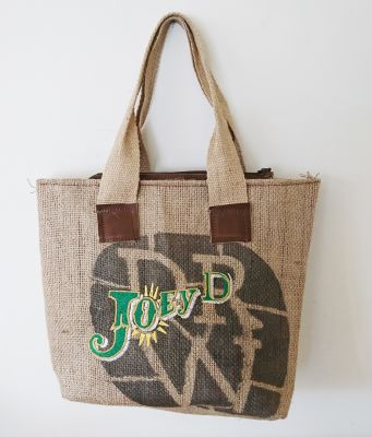 Coffee Bean Bag Shopping Beach Bag Handbag - Joey D