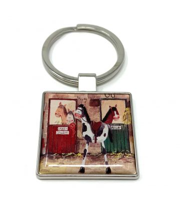 Alices Stables Horse Pony Key Ring - Alex Clark