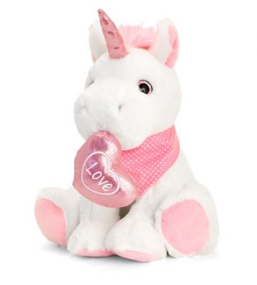 Unicorn Sparkle Soft Toy - Keel - Valentines Mothers Day