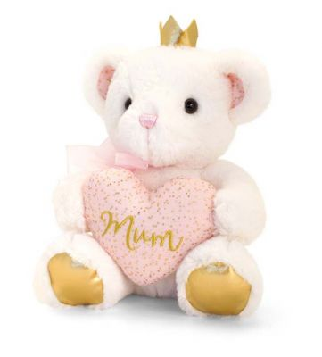 Confetti Teddy Soft Toy - Mum - Keel - Free Gift Bag - Mother's Day