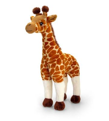 Giraffe Plush Soft Toy 40cm - Sitting - Keeleco - Keel