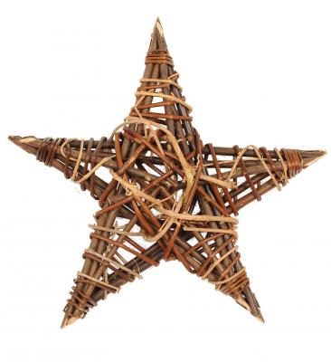 Star Large Wicker Star