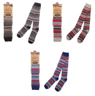 Therma Feet Thermal Mens Wellington Socks - 3 Colours