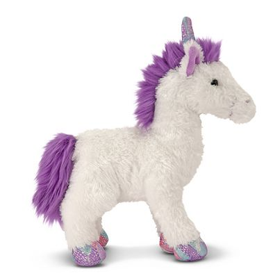 Melissa & Doug Misty Unicorn Baby Soft Toy