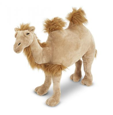 Lifelike Giant Camel Plush Soft Toy - Melissa & Doug