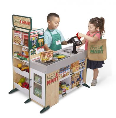 Fresh Mart Grocery Store Supermarket Pretend Play - Deluxe