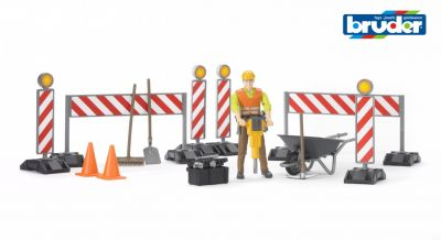 Construction Set & Figure - Bruder 62000