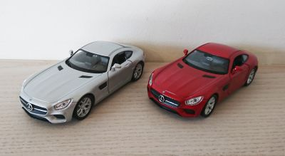Mercedes AMG GT Diecast Scale Model Car Scale 1:38