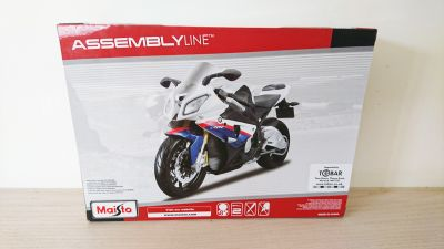 BMW S1000 RR Motorbike Diecast Metal Model Kit Scale 1:12