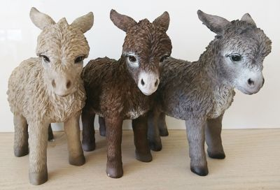 Donkey - Standing Lifelike Garden Ornament - Indoor or Outdoor - Pet Pals 3 Colours
