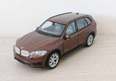BMW X5 Diecast Scale Model Car Scale 1:38 Brown