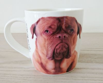 Dogue De Bordeaux Dog Mug - Dog Lovers Gift