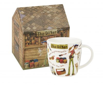 At Your Leisure Mug - The DIYER DIY Fine China Mug - Churchill