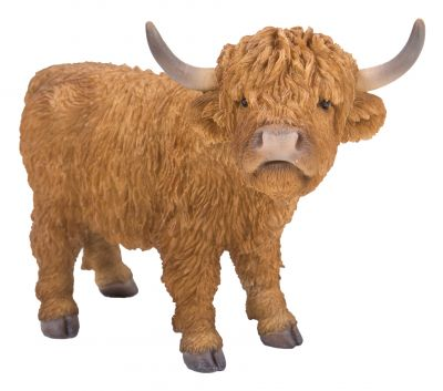 Highland Cattle - Lifelike Ornament Gift - Indoor or Outdoor - Pet Pals