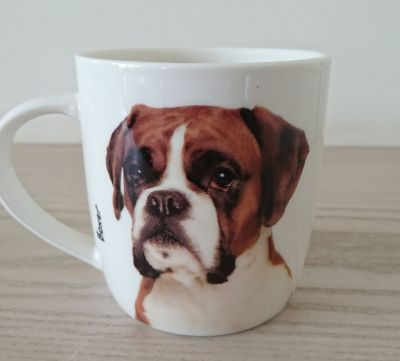 Boxer Dog or Puppy Mug - Dog Lovers Gift - 2 Designs
