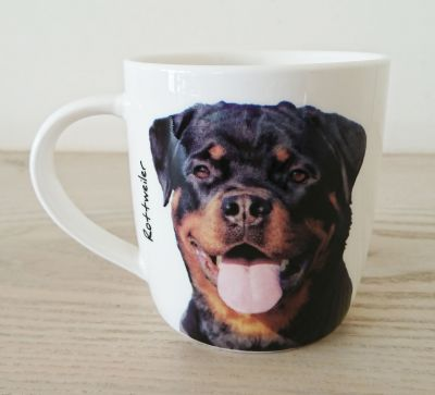Rottweiler Dog or Puppy Mug - Dog Lovers Gift - 2 Designs