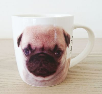 Pug Dog or Puppy Mug - Dog Lovers Gift - 2 Designs