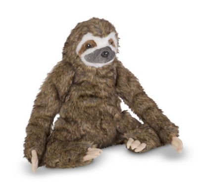 Lifelike Sloth Plush Soft Toy - Melissa & Doug