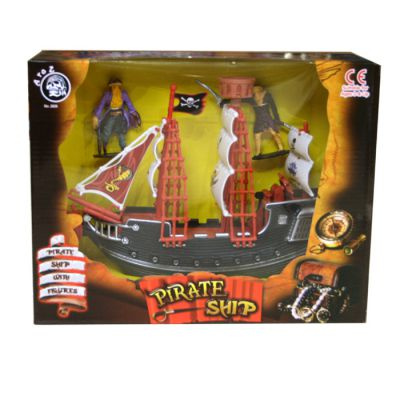 Pirate Ship with Figures Play Set