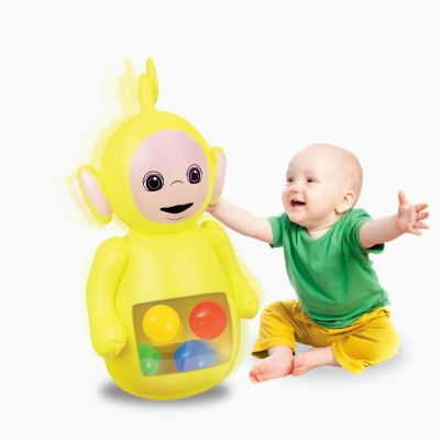 Teletubbies Laa Laa Inflatable Rocker  Bopper