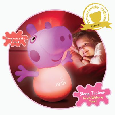 Peppa Pig Inflatable Night Light Sleep Trainer