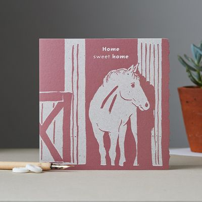 Home Sweet Home Card - Horse - New Home