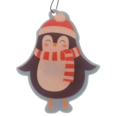 Penguin Christmas Air Freshener Cinnamon