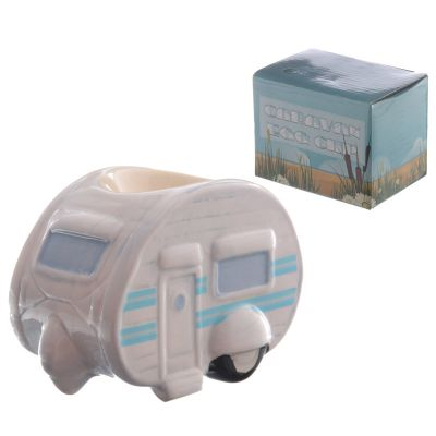 Caravan Tourer Cute Ceramic Egg Cup - Ted Smith