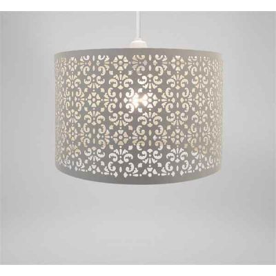 Lampshade - Oatmeal Metal Marrakech