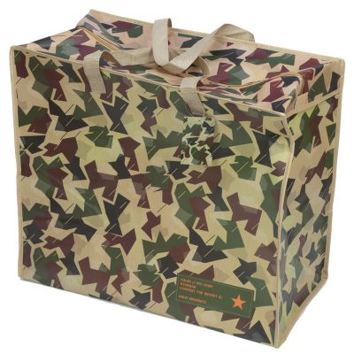 Camouflage Army Design Extra Large Laundry Storage Bag Kids Toys