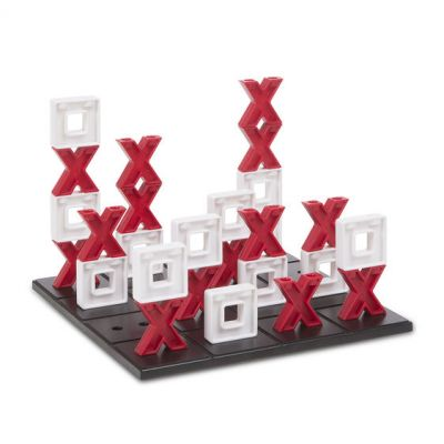 Tic Tac Toe Noughts & Crosses Stack-able Game - Melissa & Doug