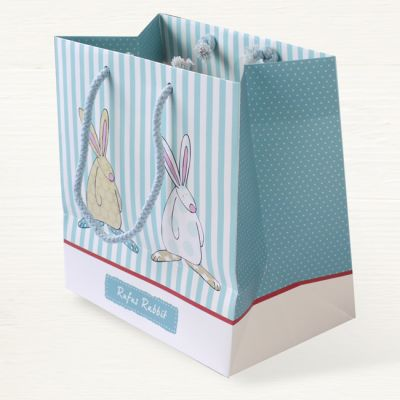 Rufus Rabbit Baby Boy Gift Bag