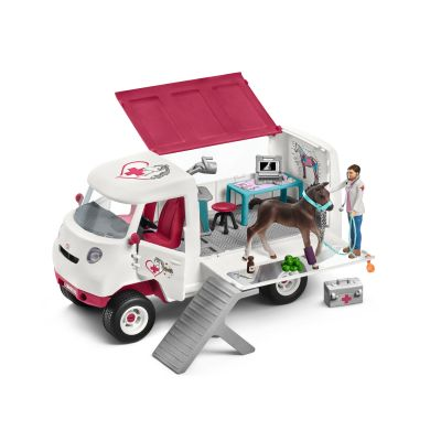 Mobile Vet Veterinarian with Hanoverian Foal Horse - Schleich - 42370